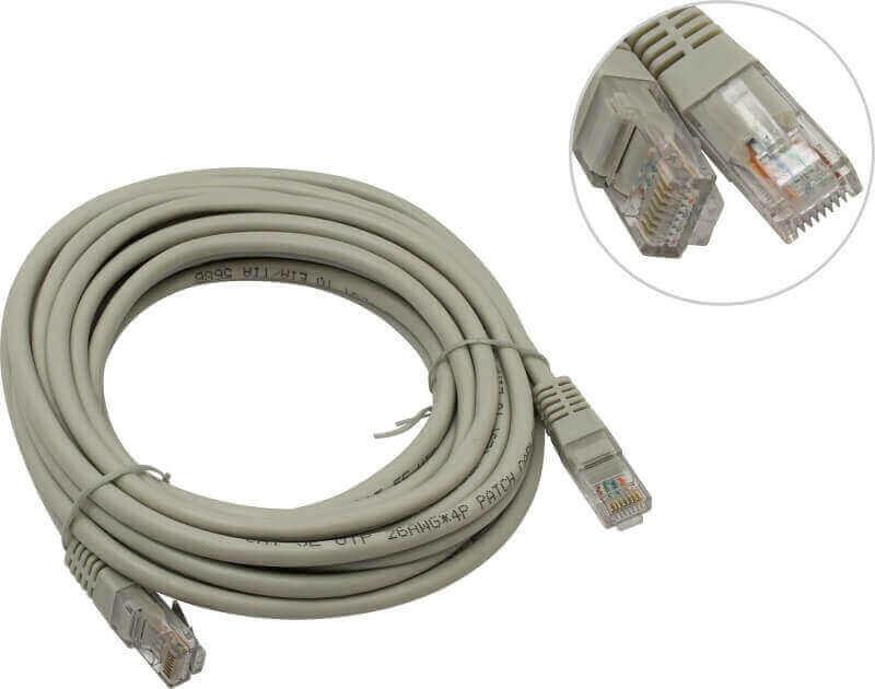 Ремонт кабеля LAN