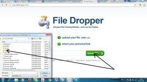 Загрузка файла - upload file