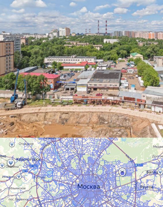 Оглядеться на нужном месте помогут фотографии районов Москвы
