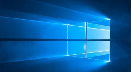 Прекращении работ программ в Windows 10