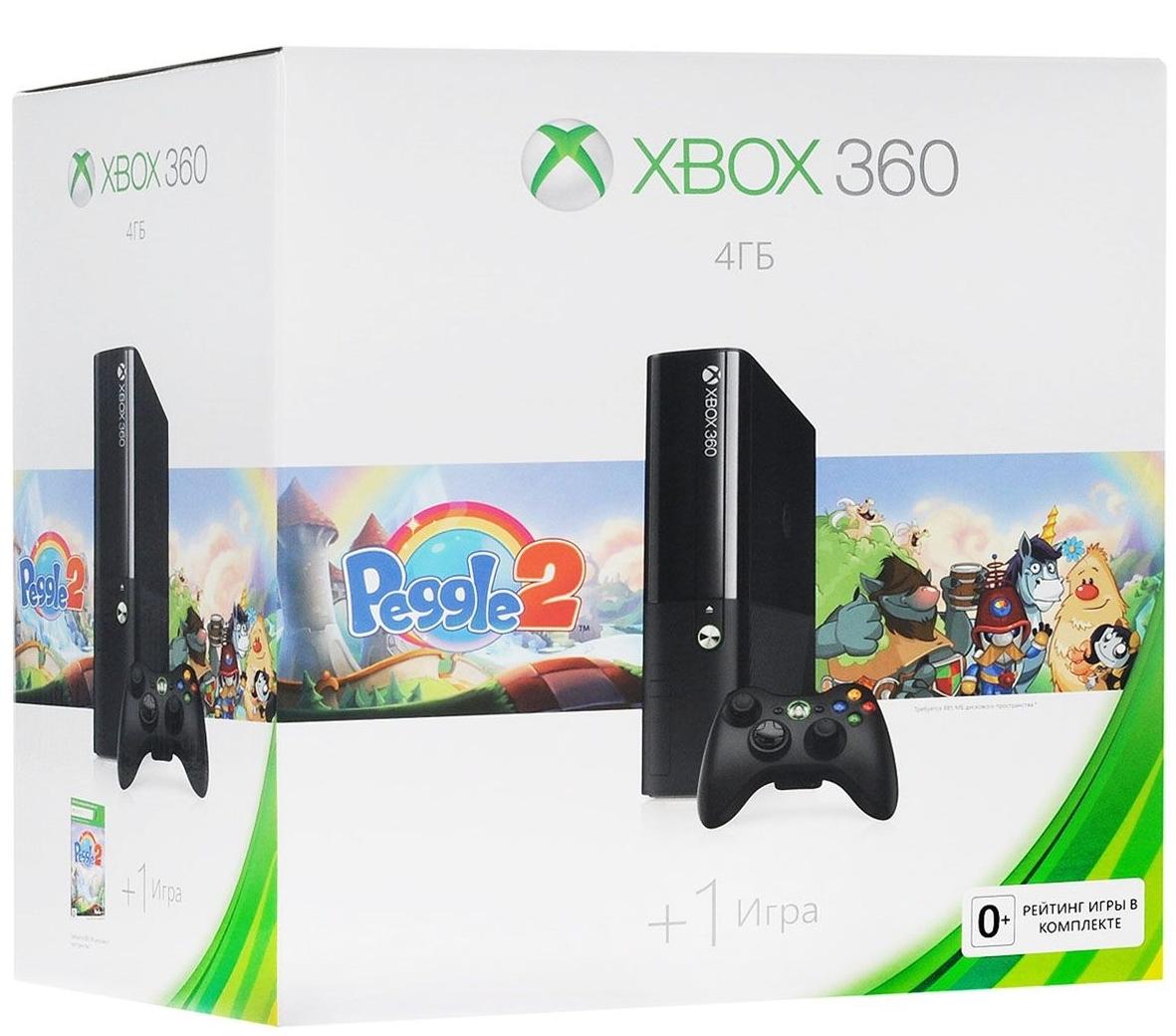 Microsoft Xbox 360 E 4 ГБ