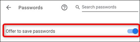 Пароли в Chrome