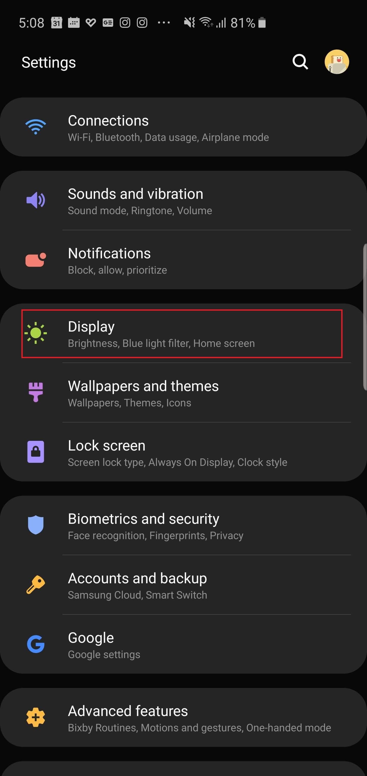 Увеличьте разрешение экрана
