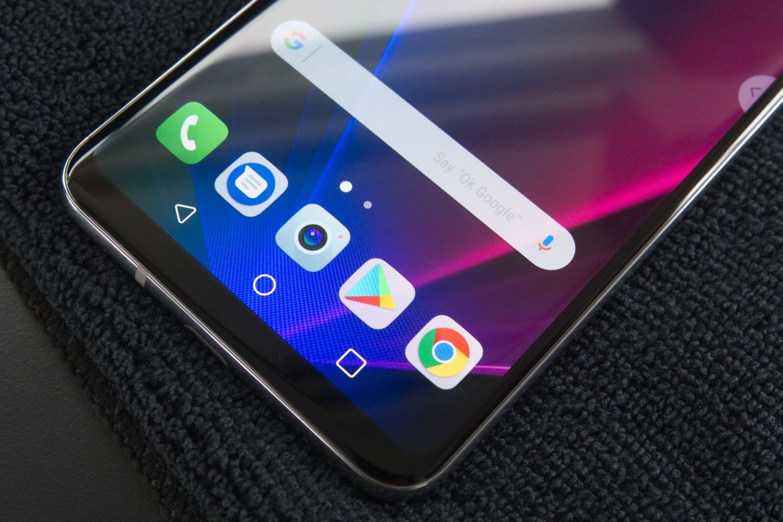 Часть смартфона