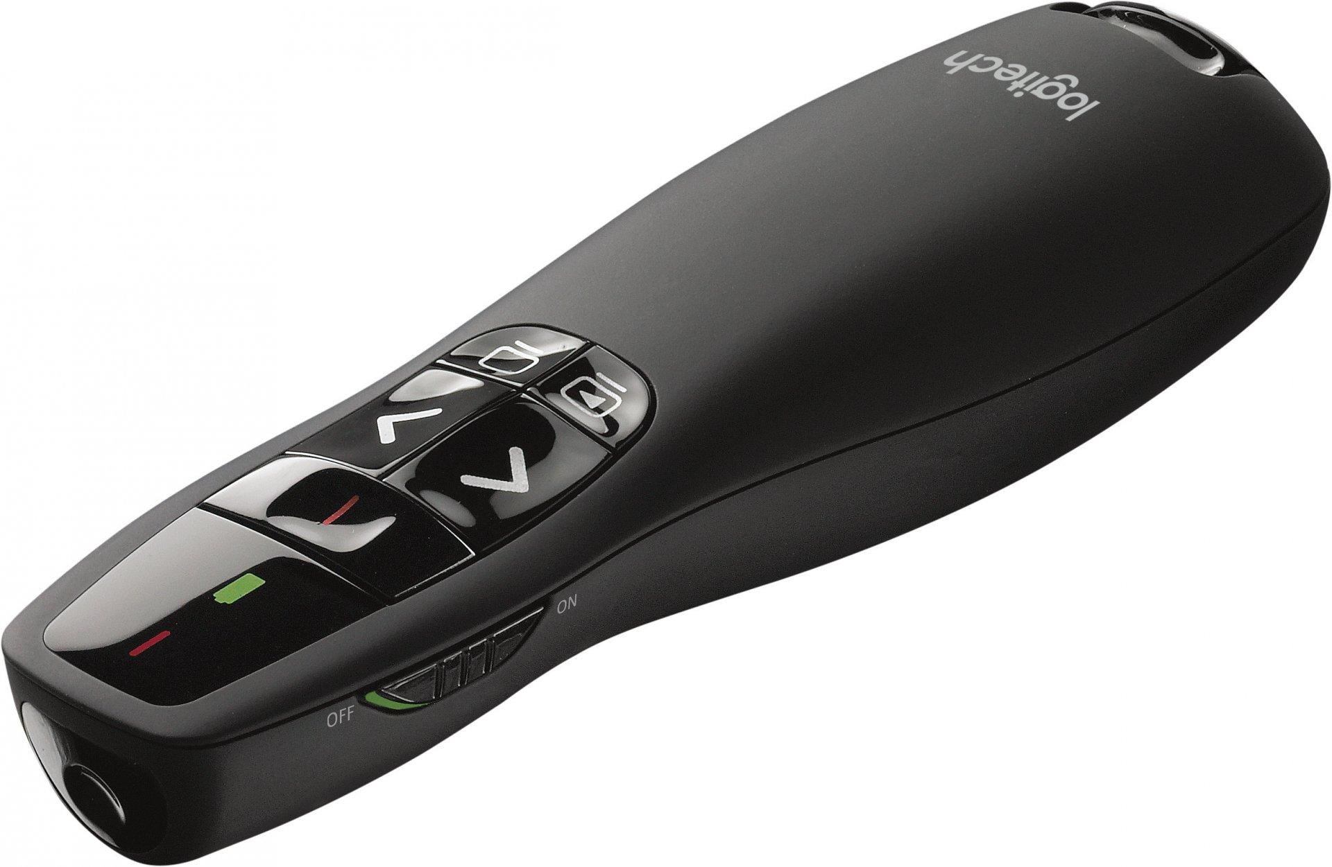Презентер Logitech Wireless Presenter R400 Black USB