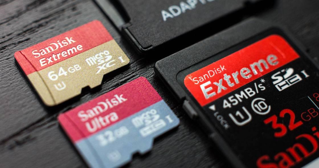SD и microSD